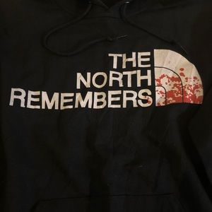 1351ed54d The North Remembers North Face Got pullover hoodie